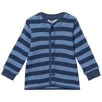 Joha Knit Wool Cardigan Stripes YD StripeB