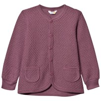 Joha Knit Wool Cardigan Grape Nectar Grape Nect