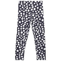 Armani Junior Leggings Pois Blue Pois Blu