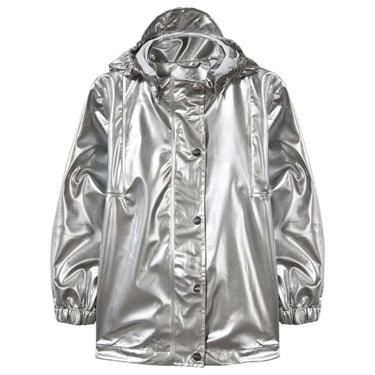 Sways Tulle Rain Jacket Silver Silver