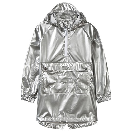 Sways Ship Rain Jacket Silver Silver