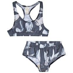 Popupshop Black Birds Racer Swimsuit