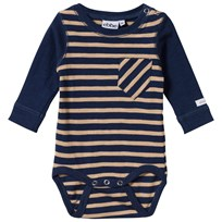 eBBe Kids Almond Baby Body Winter Navy/Sand Stripe Winter navy/sand stripe