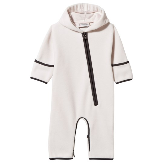 Moncler Pagliaccetto Baby One-Piece Pink Pink