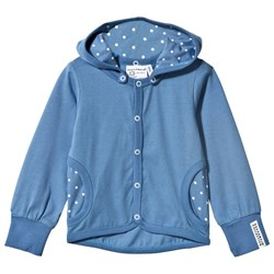 Geggamoja Jacket Blue Dot