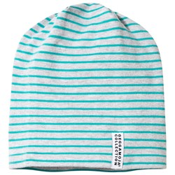 Geggamoja Topline Hat Light Grey Mel/Turquoise