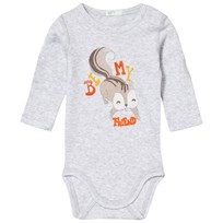 United Colors of Benetton Squirrel Baby Body Grey Sort
