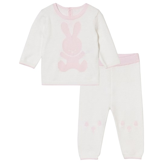 United Colors of Benetton Knit Bunny Set Pink Pink