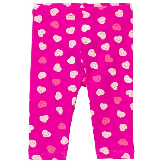 United Colors of Benetton Happy Heart Leggings Pink Pink