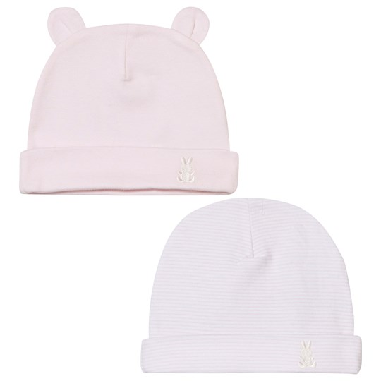 United Colors of Benetton Cotton Hat 2-Pack Pink Pink