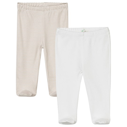 United Colors of Benetton 2-Pack Pyjama Bottoms Beige Beige