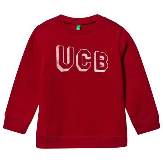 United Colors of Benetton Jersey Collegetröja Röd Red
