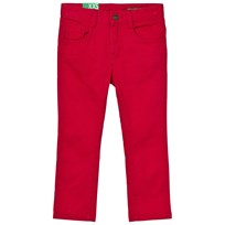 United Colors of Benetton Skinny Fit Denim Red Red