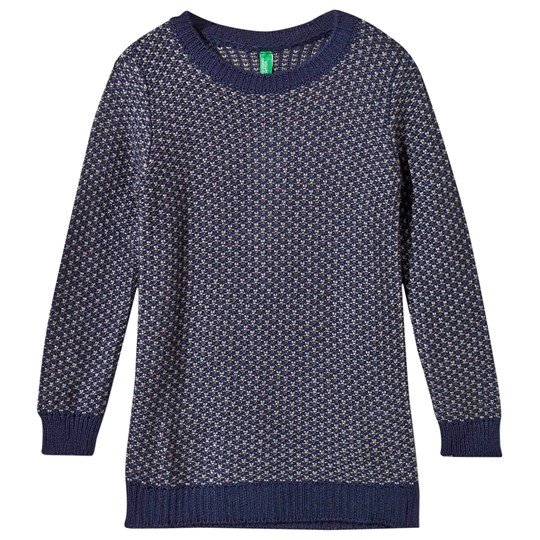 United Colors of Benetton Knit Jumper Navy Navy