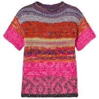 United Colors of Benetton Jacquard Knit Dress Pink Pink