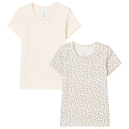 United Colors of Benetton T-Shirt 2-Pack White/Dandelion White White