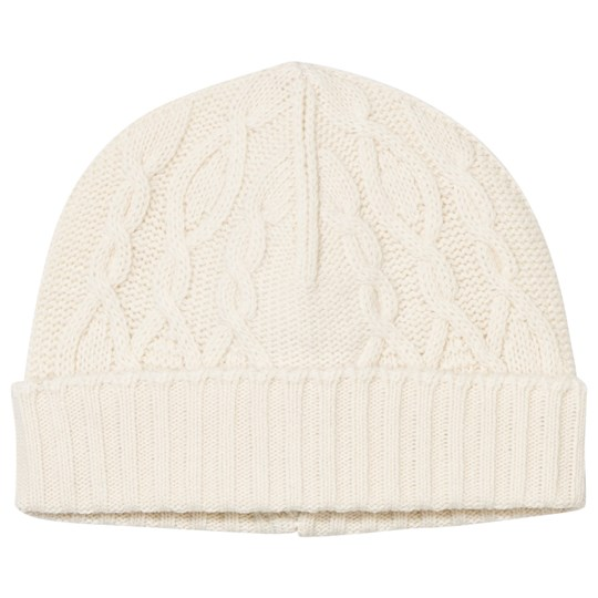 United Colors of Benetton Wool Hat White White
