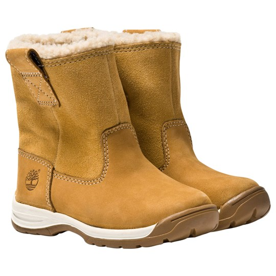 Timberland Timber Tykes Warm Lined Boots Wheat Nubuck