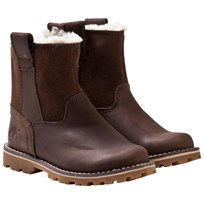 Timberland Junior Asphalt Skor Chestnut Ridge Warm Brown Warm Brown