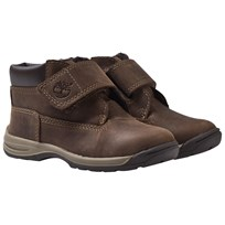 Timberland Timber Tykes Hook & Loop Boot Brown Nubuck Brown Nubuck