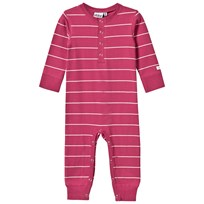 eBBe Kids Alpha Baby One-Piece Autumn Rose/Off White Stripe Autumn rose /offwhite stripe