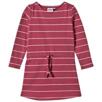 eBBe Kids Ally Dress Autumn Rose /Offwhite Stripe Autumn rose /offwhite stripe