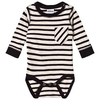 eBBe Kids Almond Baby Body Off White/Black Stripe Offwhite/black stripe