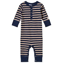 eBBe Kids Amore Baby One-Piece Winter Navy/Sand Stripe Winter navy/sand stripe