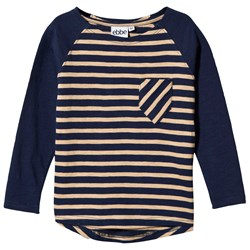 ebbe Kids Adam Rugby T-Shirt Winter Navy/Sand