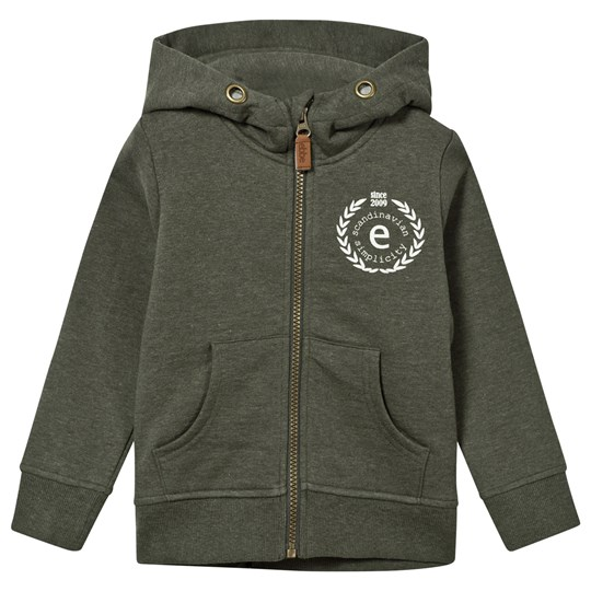 ebbe Kids Hoodie Sweat Jacket Zero Soft Nature Green Soft nature green