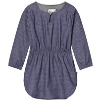 eBBe Kids Ronja Dress Blue Stamp Blue stamp