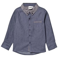 eBBe Kids Roger Shirt Blue Stamp Blue stamp
