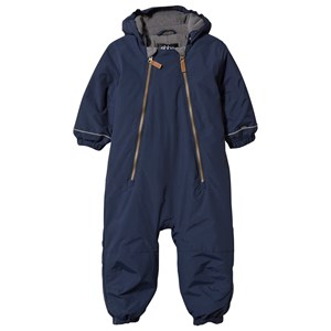 Image of ebbe Kids Obie Winter Baby Coverall Navy 68 cm (4-6 mdr) (2743763915)