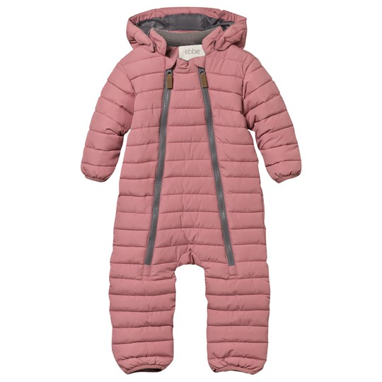 ebbe Kids Oregon Quilted Baby Snowsuit Dusty Pink Dusty Pink