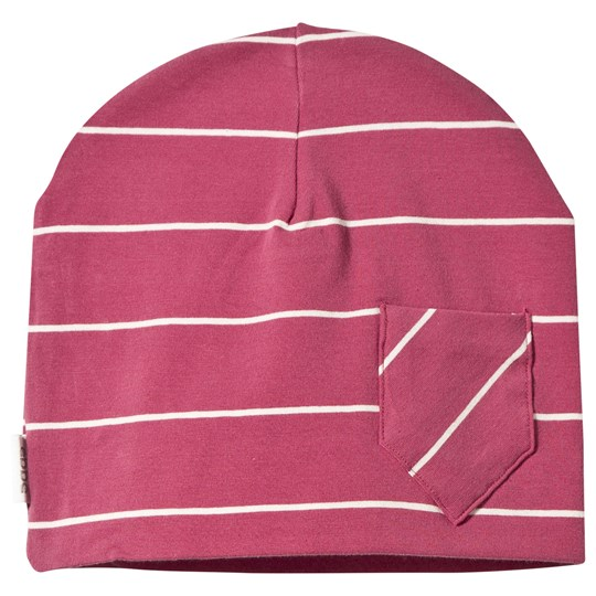 ebbe Kids Avas Beanie Autumn Rose/Offwhite Stripe Autumn rose /offwhite stripe