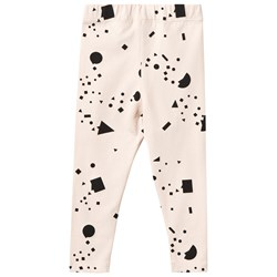 Tinycottons Geometry Chat Pant Beige/Black