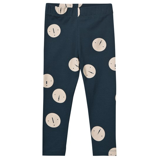 Tinycottons Faces Pant Navy/Beige navy/beige