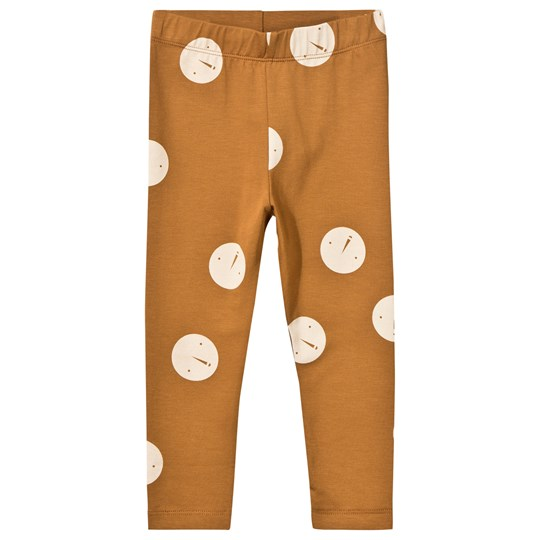 Tinycottons Faces Pant Brown/Beige brown/beige