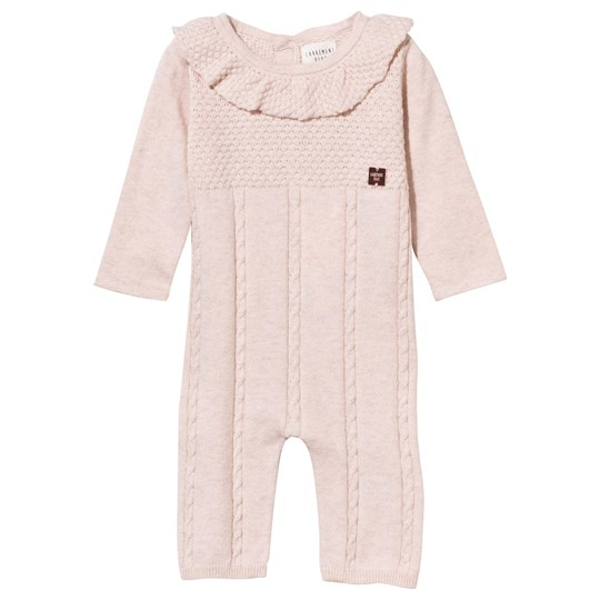 Carrément Beau Baby One-Piece Knitted Chine Pink Chine Pink