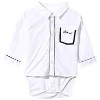 Karl Lagerfeld Kids Shirt Baby Body White White