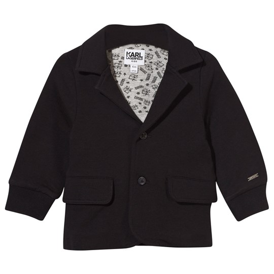 Karl Lagerfeld Kids Jacket Black Black