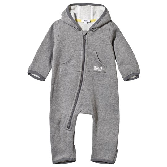 BOSS Onesie Grey Heather Chine Grey