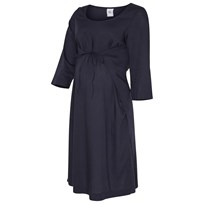 Mamalicious Maternity Dress Navy Navy Blazer