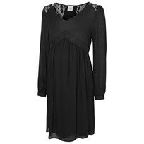 Mamalicious Abbey Dress Black Black