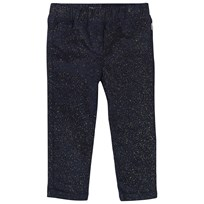 Billieblush Velvet Trousers Navy Navy