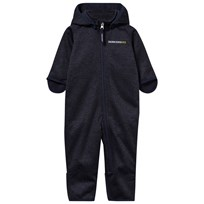 Didriksons Jiele Baby Coverall Navy Navy