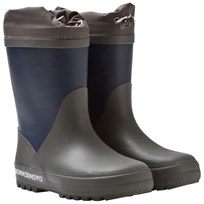 Didriksons Slush Kid's Winter Boots Navy Navy