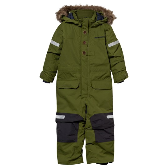 Didriksons Onawa Kid's Coverall Turtle Green Turtle gre