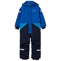 Didriksons Tjarve Kid's Coverall Caribbean Caribbean