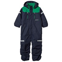 Didriksons Ridne Kid's Coverall Navy Navy